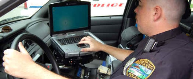 Typing and Driving, a Policeman's Kryptonite